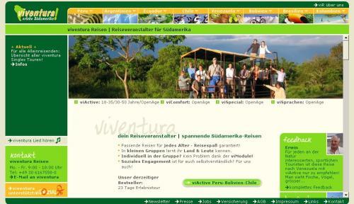 viventura Homepage