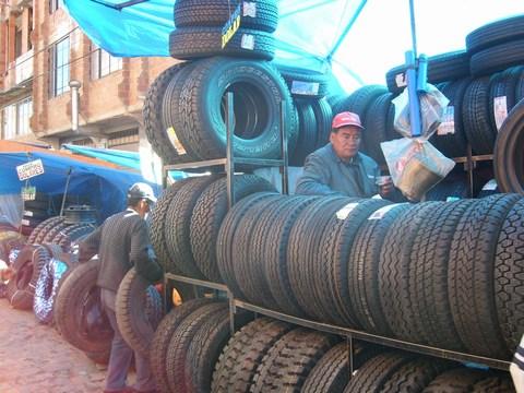 Markt in El Alto