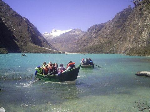 Die wunderschönen Llanganuco Lagunen
