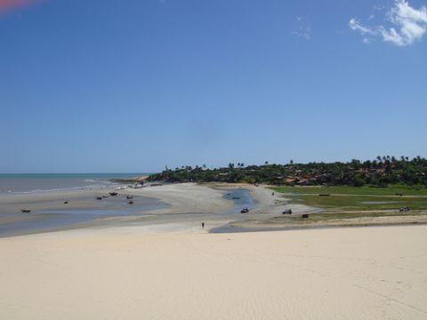 Strände Brasilien - Praia de Jericoacoara in Ceará