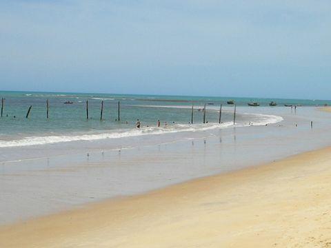 Strände Brasilien - Praia dos Nativos in Bahia
