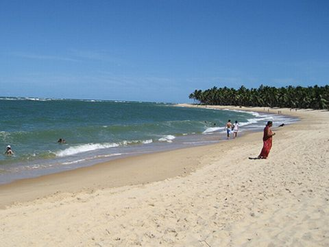 Strände Brasilien  - Praia do Gunga in Alagos
