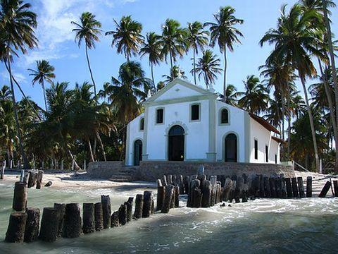 Strände Brasilien - Praia de Carneiros in Pernambuco