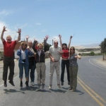 Panamericana mit Reisegruppe