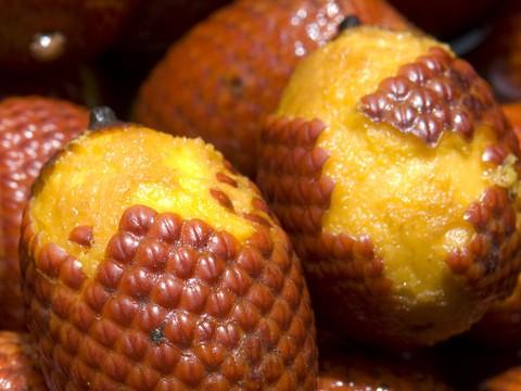 Exotische Früchte: Aguaje