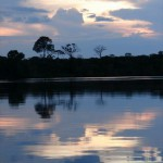 amazonas sonnenuntergang