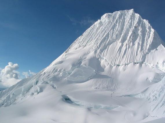 Peru Sehenswürdigkeiten: Huaraz Alpamayo