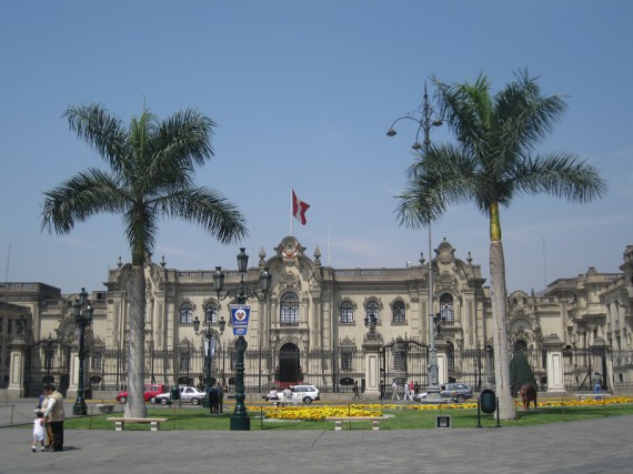 Peru Sehenswürdigkeiten: Lima - Plaza De Armas