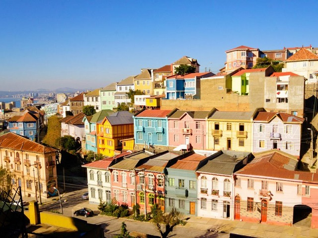 Chile Sehenswürdigkeiten. Valparaiso