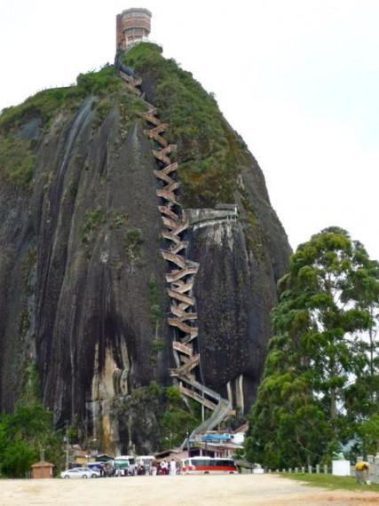 El Penol in Antioquia Colombia