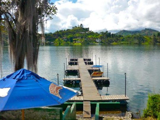 Guatape dock