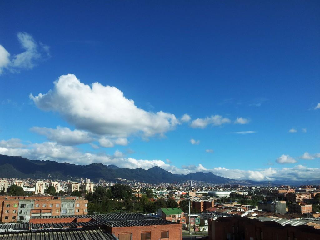 Schönes Wetter in Bogota