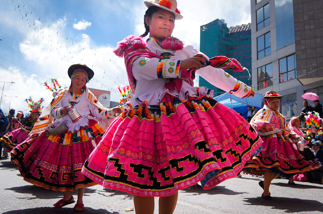 The Culture of Bolivia: Traditional Dances at Entrada Universitaria