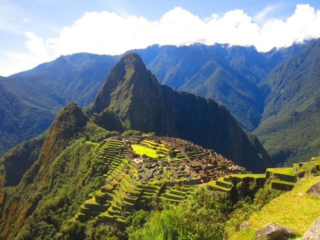 Farbvielfalt Südamerika: Machu Picchu