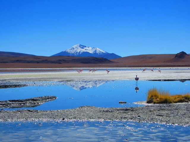 Salar de Uyuni Bolivien - Altiplano
