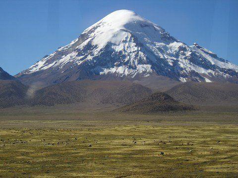 Foto: Sajama, der höchste Berg Boliviens (Carlos Arturo Revollo - viventura)