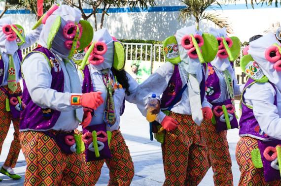 Karneval in Barranquilla - Marimondas