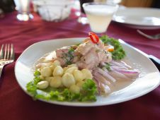viventura Lima food lima peru vivideo 046 - Ceviche, a typical Peruvian Dish
