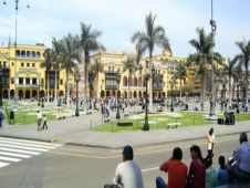 viventura Lima Plaza Mayor in Lima mit dem