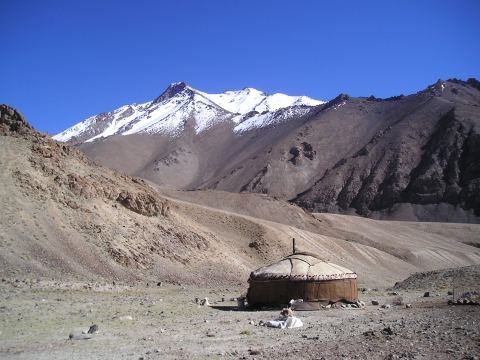 Yurt on Madian side