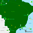 map of Brasilien